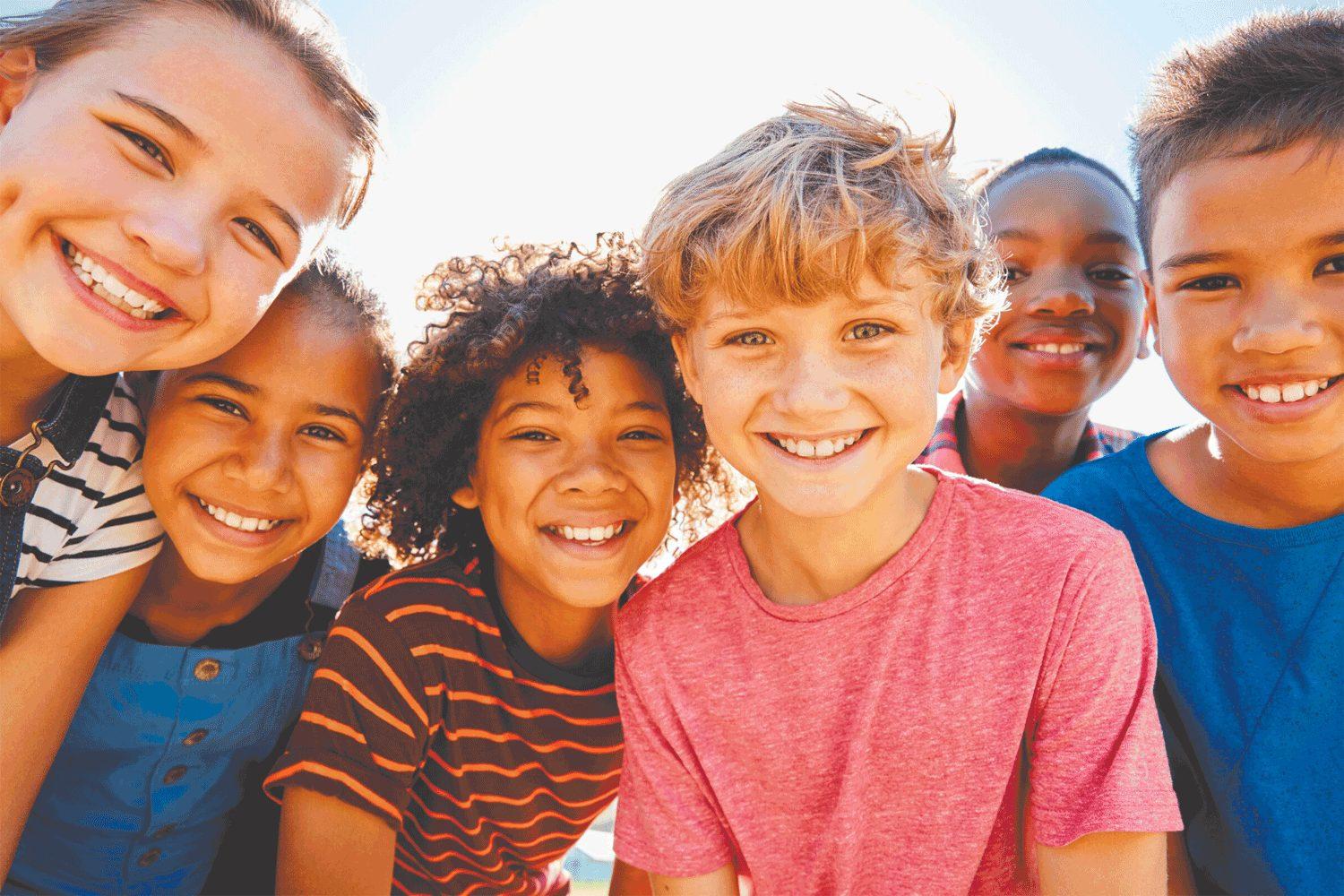 Photo of smiling kids