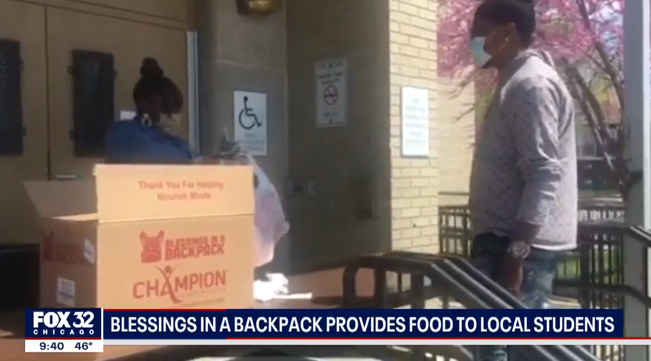 Blessings in a Backpack provides food to Chicago students amid coronavirus pandemic