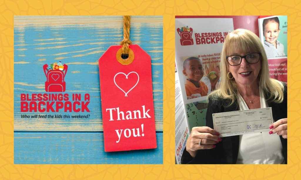 Bobby Nichols Charity Foundation donates nearly $150K to Blessings in a Backpack