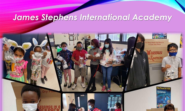 James Stephens International Academy Says Thank You